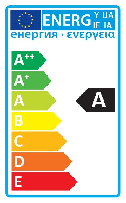 Plafonjera NASCA LED 15W 43cm bijela/krom 107030  energetski certifikat