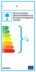 Ideal Lux NODI CROMO PL5 Stropna svjetiljka - 200484  energetski certifikat